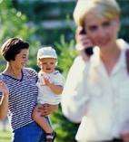 Как приучить ребенка к няне